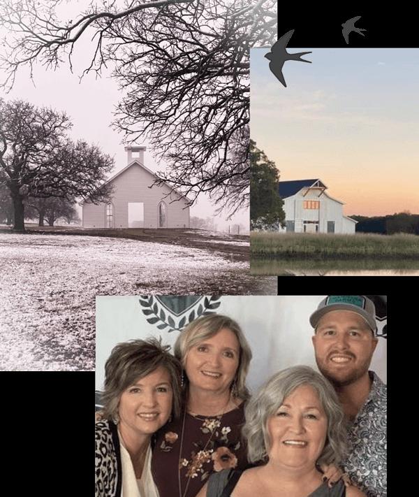 About Us - Chandelier Farm team